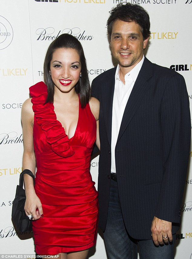 Ralph Macchio and daughter Julia 2