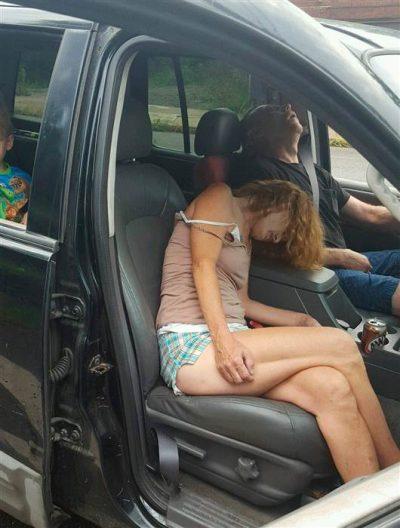 rhonda-pasek-heroin-car-passed-out