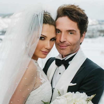 Richard Marx and Daisy Fuentes married