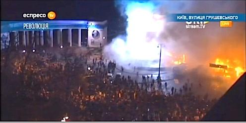 Rioting in the Ukraine