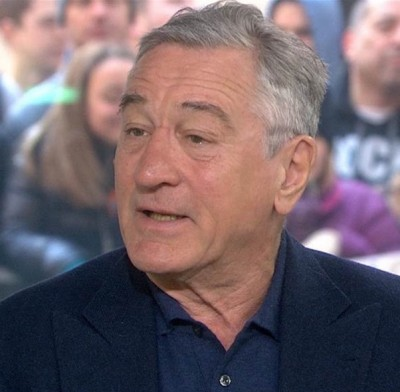 Robert De Niro On Today vaxxed