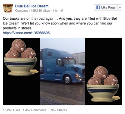 Rocky Mountain Road Blue Bell Ice Cream 6