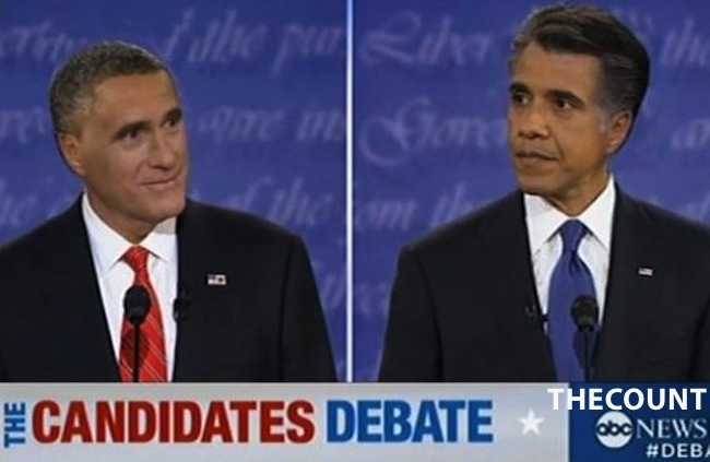 Romney Obama hair swap Romney Obama Hilarious HAIR SWAP!