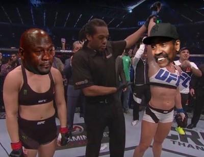 Ronda Rousey meme denzel