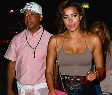 Russell Simmons Julissa Bermudez dating 21 New Couple ALERT! Julissa Bermudez and Russell Simmons!