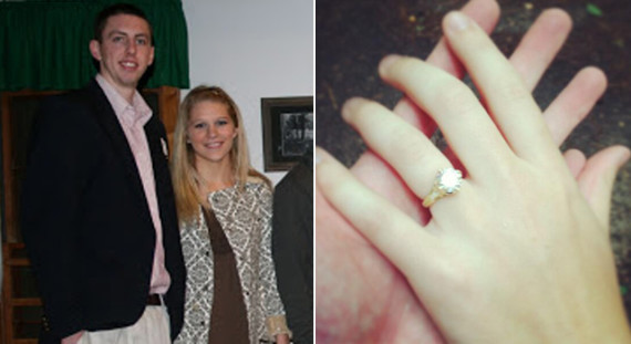 Ryan Kelly Lindsay Cowher Engaged 570x311 Bill Cowher Daughter Engaged PHOTO