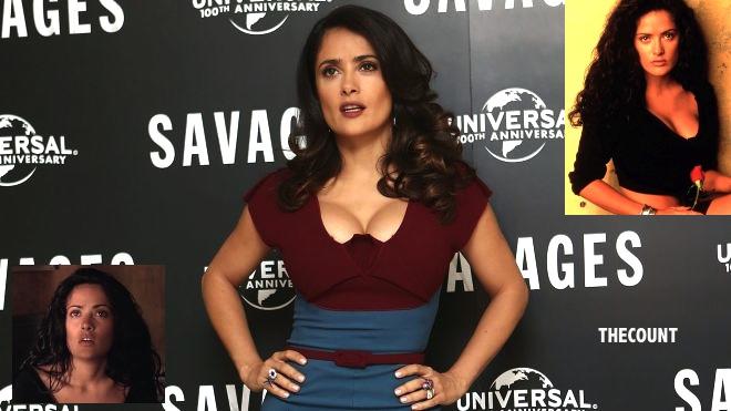 SALMA HAYEK HOT Selma Hayek Disowning Desperado Sex Scene