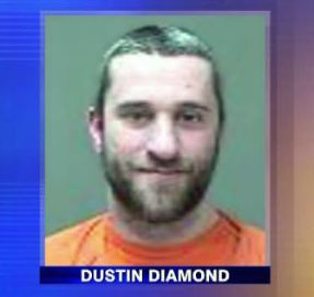 SCREECH Dustin Diamond ARRESTED