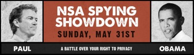 STOP SPYING ON INNOCENT AMERICANS NOW