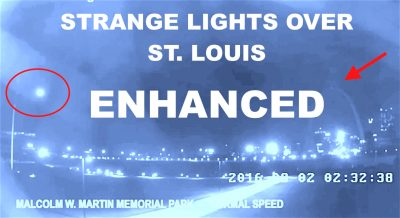 STRANGE Lights Spotted In Over St. Louis Arch ENHANCED