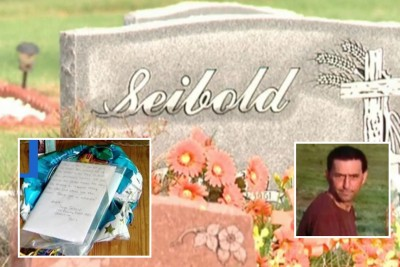Saige Sandy Seibold letter to heaven 400x267 Balloon Released At Fathers Grave Travels 25 MILES To Family Home