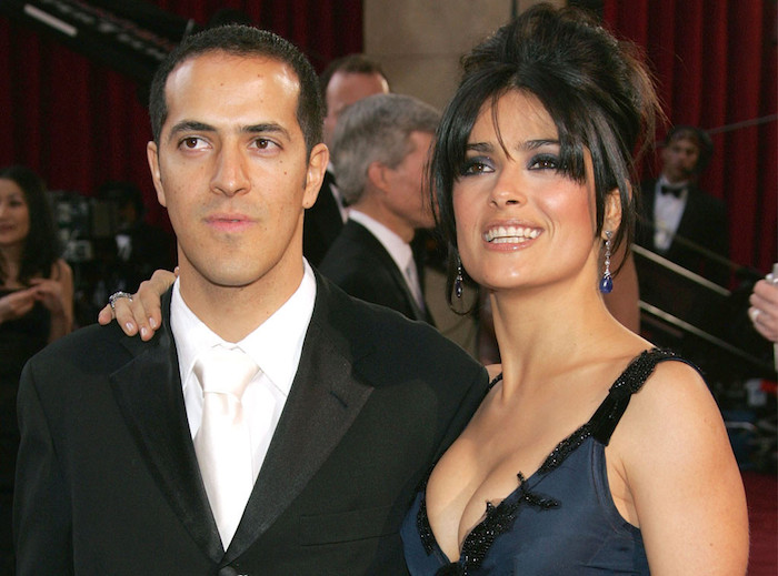 Salma Hayek brother sami