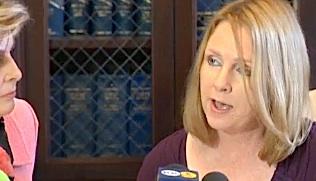 San Diego Mayor Filner Fiancee Irene McCormack Jackson Gloria Allred Presser