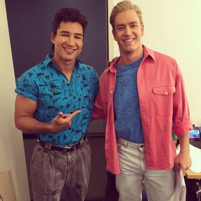 Saved By The Bell Reunion fallon zac