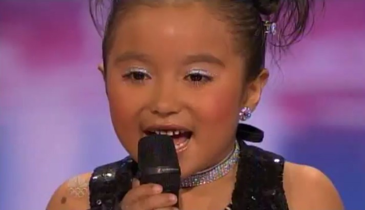 Lil Starr ~ 6 year old Tap Dancer ~ [Liliana Rosa] ~ America's Got Talent Audition 6/18/12