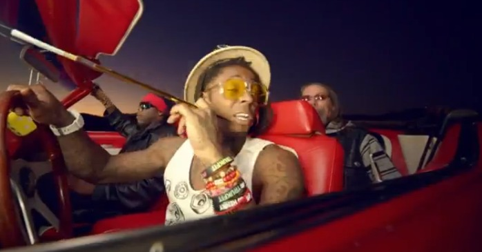 Screen Shot 2012 12 04 at 7.58.22 AM 1 NEW LIL WAYNE Video... Hunter S. Thompson Turning In Grave