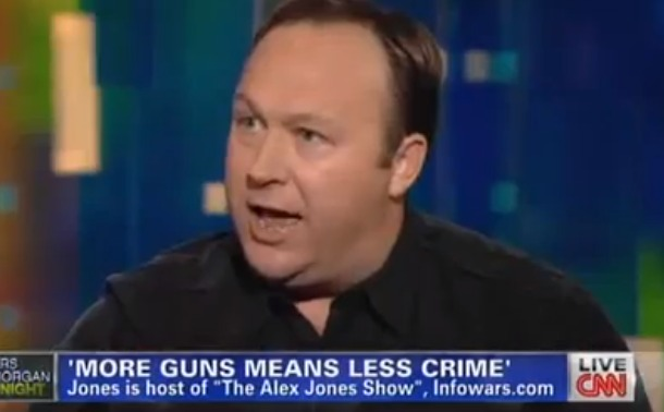 Screen Shot 2013 01 07 at 8.06.51 PM 1 Alex Jones Finally Gets World Stage... Appears On Piers Morgan CNN Unleashed