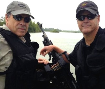 Sean Hannity and Gov. Rick Perry gunboat