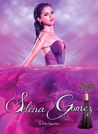 SelenaGomezPerfume Selena Gomez New Perfume Ad Purple Like Boyfriends