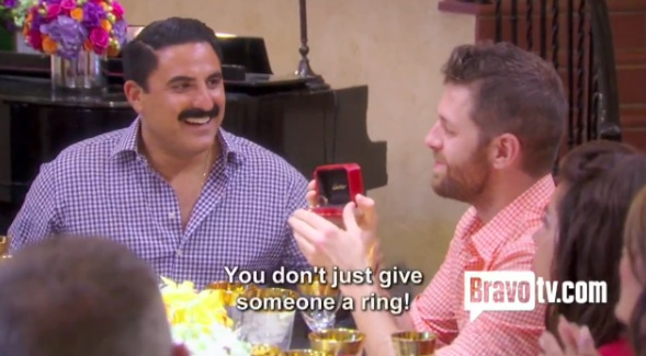Shahs of Sunset star Reza Farahan engaged