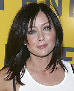 "Shannen Doherty pregnant pizza Shannen Doherty: Letting Herself Go ""Not Pregnant, I Just Like Pizza"""