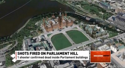 Shooting in Canadian Parliament