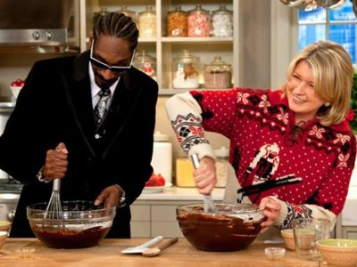 Snoop Dogg And Martha Stewart dinner party