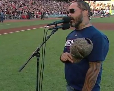 Star Spangled Banner Aaron Lewis