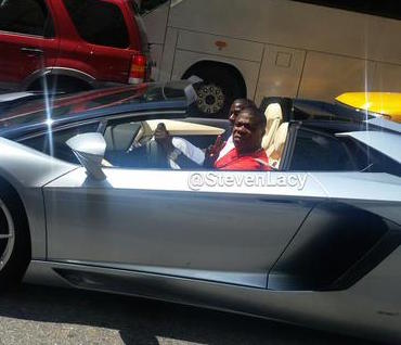 Steve Lacy Fox 5 tracy morgan Lamborghini