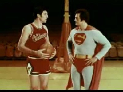 Superman and Jerry Sloan for United States Air Force Commercial 1970s