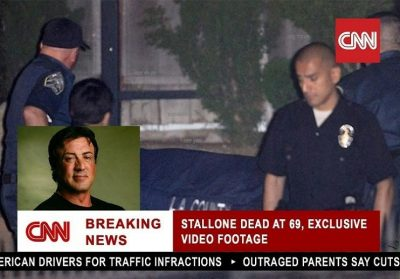 Sylvester Stallone death hoax
