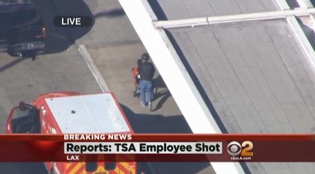 TSA LAX SHOOTING TSA AGENT SHOT AT LAX