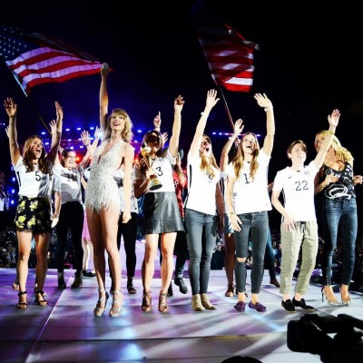 Taylor Swift U.S. Women's Soccer Team