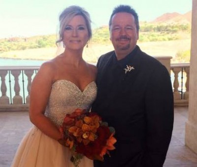 Terry Fator marries Angie Fiore  2