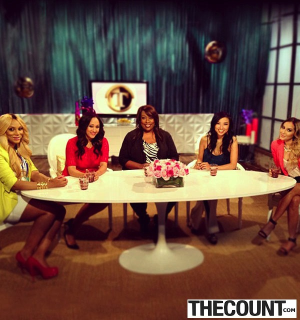 The Real Talkshow The Many Looks Of Adrienne Bailon The Real Talk Show Host