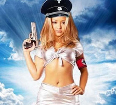 Tila Tequila nazi photo Tila Tequila DAS BOOTED From Celebrity Big Brother Over HITLER RANT
