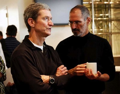 Tim-Cook-Steve-Jobs