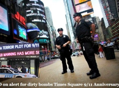 Times Square CBS AP 400x299 ISIS Posts Creditable Daunting Warning For Times Square