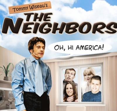 Tommy Wiseau the neighbors