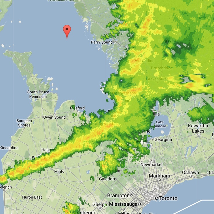 Tornado Touches Down Near Angus, Ontario Canada - TheCount.com