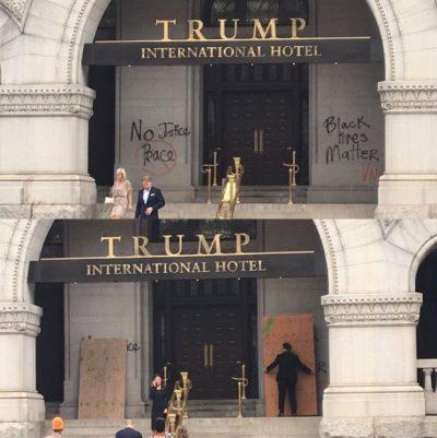 trump-international-hotel-in-washington-dc-graffiti-black-lives-matter