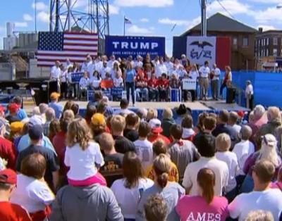 Trump rally Ames Iowa