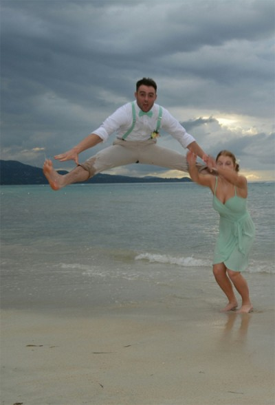 Tyler Foster wedding photo fail