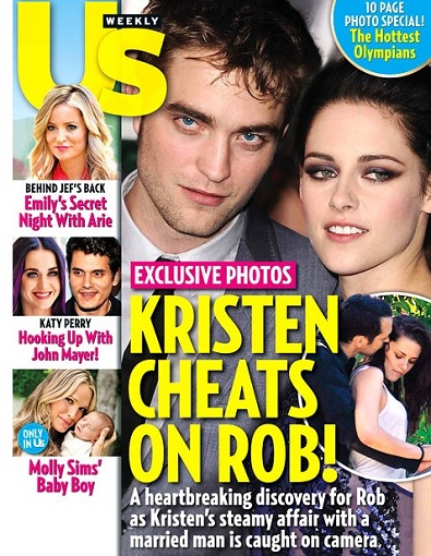 UsWeeklyCoverKstewcheats POOR ROB PATZ: K Stew Bangs Snow White Director Gets Caught