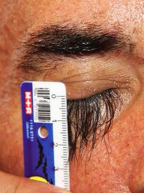 Valery Smagiy eyelashes