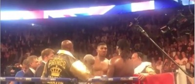 Video Shows Anthony Joshua Right After Charles Martin Knockout video