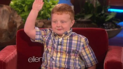 Viral 'Apparently' Kid Appears On Ellen 3