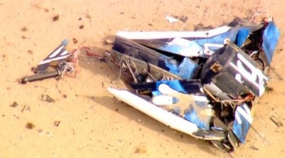 Virgin Galactic II CRASHES In Mojave Desert