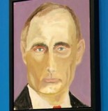 Vladimir putin george-w-bush-new-paintings-story-top