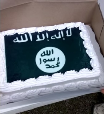Walmart makes ISIS cake refused Confederate flag cake Walmart Refuses To Make Confederate Flag Cake, ISIS Flag? No Problem!